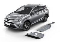 Комплект защит RIVAL 4 mm для Toyota RAV4   4WD 2,0; 4WD 2,2D; 4WD 2,5 only! not for Toyota RAV4 hybrid 2017- 2013-2015; 2015- (2333.5768.1)