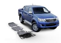 Комплект защит RIVAL 6 mm для Toyota Hilux Vigo 2,5TD; 3,0TD; 2,7  2007-2015 (23333.5790.1.6)