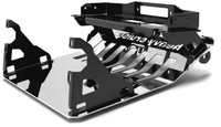 Плита монтажная под лебедку для Jeep Commander XK 2006-2012 тип №2 (23576)