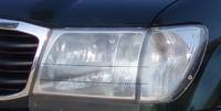 Пластиковая защита фар (прозрачная) EGR TOYOTA LC100 97-03 #239150