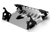 Защита проводки буксировки алюминиевая для Jeep Commander (23936)