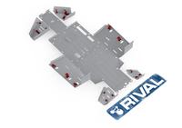 Защита днища с защитой рычагов RIVAL UTV Pioneer 700/ 700-4 (FULL KIT) 2015- (2444.2108.1)