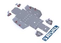 Защита днища с защитой рычагов RIVAL UTV Pioneer 500 (FULL KIT) 2015- (2444.2112.1)