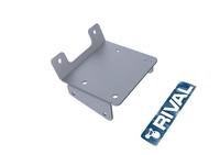 Монтажная плита RIVAL для установки лебёдки ATV KingQuad LT-A750/ LT-A500 (winch mounting) 2011- (2444.5502.1)