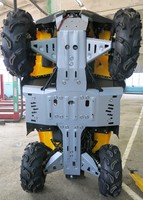 Защита днища с защитой рычагов RIVAL ATV Guepard 650G/ 800G/ 850G (FULL KIT) 2014-2017 (2444.6725.2)