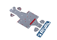 Защита днища с защитой рычагов RIVAL UTV Rhino (FULL KIT) 2011-2013 (2444.7102.1)