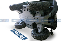 Защита днища с защитой рычагов RIVAL ATV Grizzly 700 (FULL KIT) 2016- (2444.7124.1)