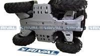 Защита днища с защитой рычагов RIVAL ATV Kodiak (FULL KIT) 2016- (2444.7132.1)