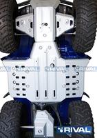 Защита днища с защитой рычагов RIVAL ATV Grizzly 350 Swingarm Front plate + engine + Front arm guards 2012-2015 (2444.7140.1)