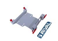 Монтажная плита RIVAL для установки лебёдки SSV RZR XP 1000/ XP TURBO (winch mounting) 2013-2023 (2444.7419.2)