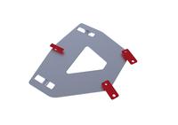 Монтажная плита для снежного отвала RIVAL ATV Sportsman 570/ 570 Touring (snow plow mounting) 2014-2015 (2444.7425.1)