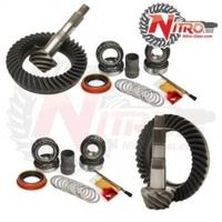 Комплект главных пар c набором для установки для NISSAN Patrol и Safari GU/GQ/Y60/Y61 Nitro Gear and Axle (GPPATROL-4.63)