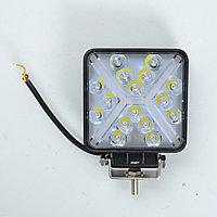 Фара диодная Лидер 9-48W дальний свет с поворотом (1шт) (4064)