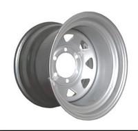 Колесные диски серебрянные лакированные (15x10 6x139.7 ET-50)
