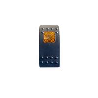 Тумблер переключатель вкл/выкл - индикатор желтый (tum-vnd-yel-id)