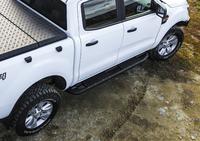 Защита порогов RIVAL для Ford Ranger PX 2,2; 3,2 2012-2015; 2016- (2D.1806.1)