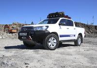 Передний бампер RIVAL для Toyota Hilux Vigo all 2011-2015 (2D.5707.1-NL)