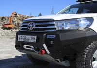 Передний бампер RIVAL для Toyota Hilux Revo all 2015- (2D.5701.1-NL)