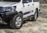 Защита порогов RIVAL для Toyota Hilux Revo all 2015-(2D.5703.1)