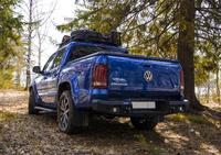 Задний бампер RIVAL для Volkswagen Amarok  all 2010-2016, 2016- (2D.5801.1-W460)