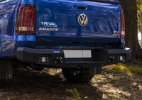 Задний бампер RIVAL для Volkswagen Amarok  all 2010-2016, 2016- (2D.5801.1-NL)