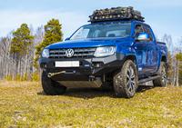 Передний бампер RIVAL для Volkswagen Amarok  all 2010-2016, 2016- (2D.5802.1-W410)