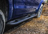 Защита порогов RIVAL для Volkswagen Amarok  3,0 V6 2016- (2D.5805.1)