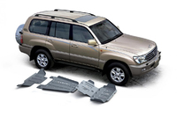 Комплект защит RIVAL 6 mm для Toyota Land Cruiser 100 J10 4,2D 2002-2007 (2333.5794.1.6)