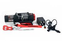 Лебедка для квадроцикла Powerwinch PW4000SR с синтетическим тросом и беспроводным пультом 1.8т (PW4000SR)
