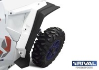 Расширители арок (узкие) RIVAL UTV Polaris RZR 1000 (2013+) (S.0039.1)
