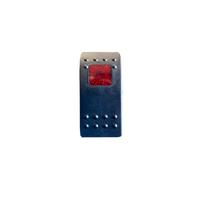 Тумблер переключатель вкл/выкл - индикатор красный (tum-vnd-red-id)