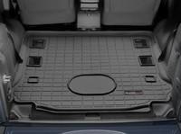 Коврик резиновый WeatherTech для Jeep Wrangler JK 2014+ в багажник черный (401055)