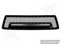 Решетка радиатора вариант №1 для фары 30″SR-Серии Toyota Tundra 2010-2013 (40554)