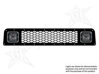 Нижняя часть решетки радиатора для 2-х фар Dually D2 (фары в комплект не входят) Toyota 4-Runner 2010-2013 (40563)