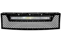 Решетка радиатора Raptor® Grille (Without Camera) With RDS-Series 30″ LED Light Bar Ford 2010-2014 (41572)