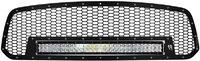 Декоративная решетка радиатора в комплекте фара RDS-Series 30″ Dodge Ram 1500 2013-2014 (41585)