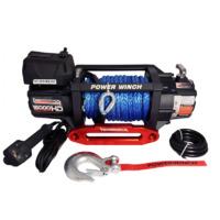Электрическая лебедка Kangaroowinch K15000 Extreme HD 12V с синтетическим тросом - 6.8т