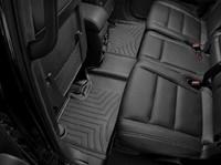 Коврики резиновые WeatherTech для Jeep Grand Cherokee 2016+ задние черные (443242)