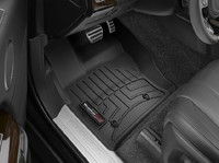 Коврики резиновые WeatherTech для Land Rover Range Rover Sport 2014+, Discovery 2017+ передние черные (444801)