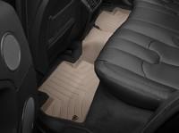 Коврики резиновые WeatherTech для Land Rover Range Rover Sport 2014+ задние бежевые (454804)