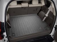 Коврик резиновый WeatherTech для Toyota Land Cruiser Prado 150 2014+ в багажник черный (40457)