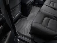 Коврики резиновые WeatherTech для Toyota Land Cruiser 200 2012+ задние черные (441572)