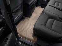 Коврики резиновые WeatherTech для Toyota Land Cruiser 200 2012+ задние бежевые (451572)