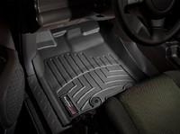 Коврики резиновые WeatherTech для Toyota FJ Cruiser 2011+ передние черные (446041)