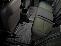 Коврики резиновые WeatherTech для Toyota FJ Cruiser 2007+ задние черные (443112)