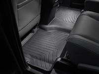Коврики резиновые WeatherTech для Toyota Sequoia 2012+ задние черные (440934)
