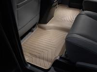 Коврики резиновые WeatherTech для Toyota Sequoia 2012+ задние бежевые (450934)