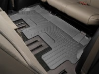 Коврики резиновые WeatherTech для Volkswagen Amarok 2010-2014  передние черные (443261)