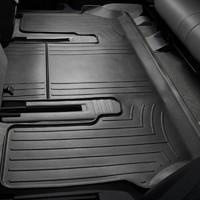 Коврики резиновые WeatherTech для Toyota Sequoia 2012+ третий ряд черные (440935)
