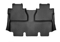 Коврики резиновые WeatherTech для Toyota Tundra 2012+ задние черные (440938)